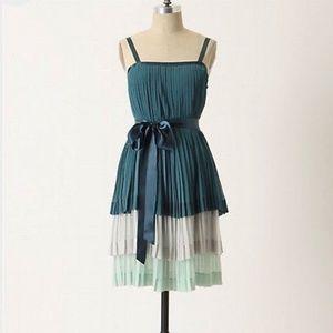Anthropologie Girls From Savoy Bayan Pleated Dress